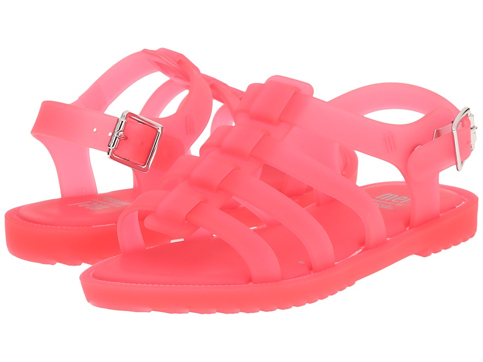 Mini Melissa - Mel Flox (Little Kid) (Pink) Girl's Shoes