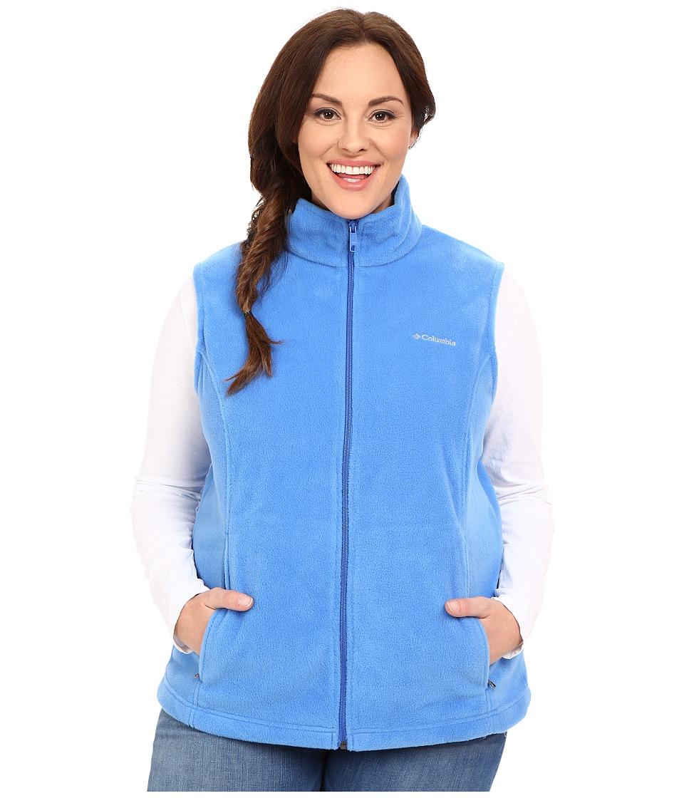 Columbia - Plus Size Benton Springs Vest (Stormy Blue) Women