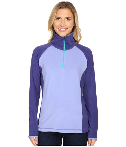 Columbia - Glacial Fleece III 1/2 Zip (Pale Purple/Skyward) Women's Long Sleeve Pullover
