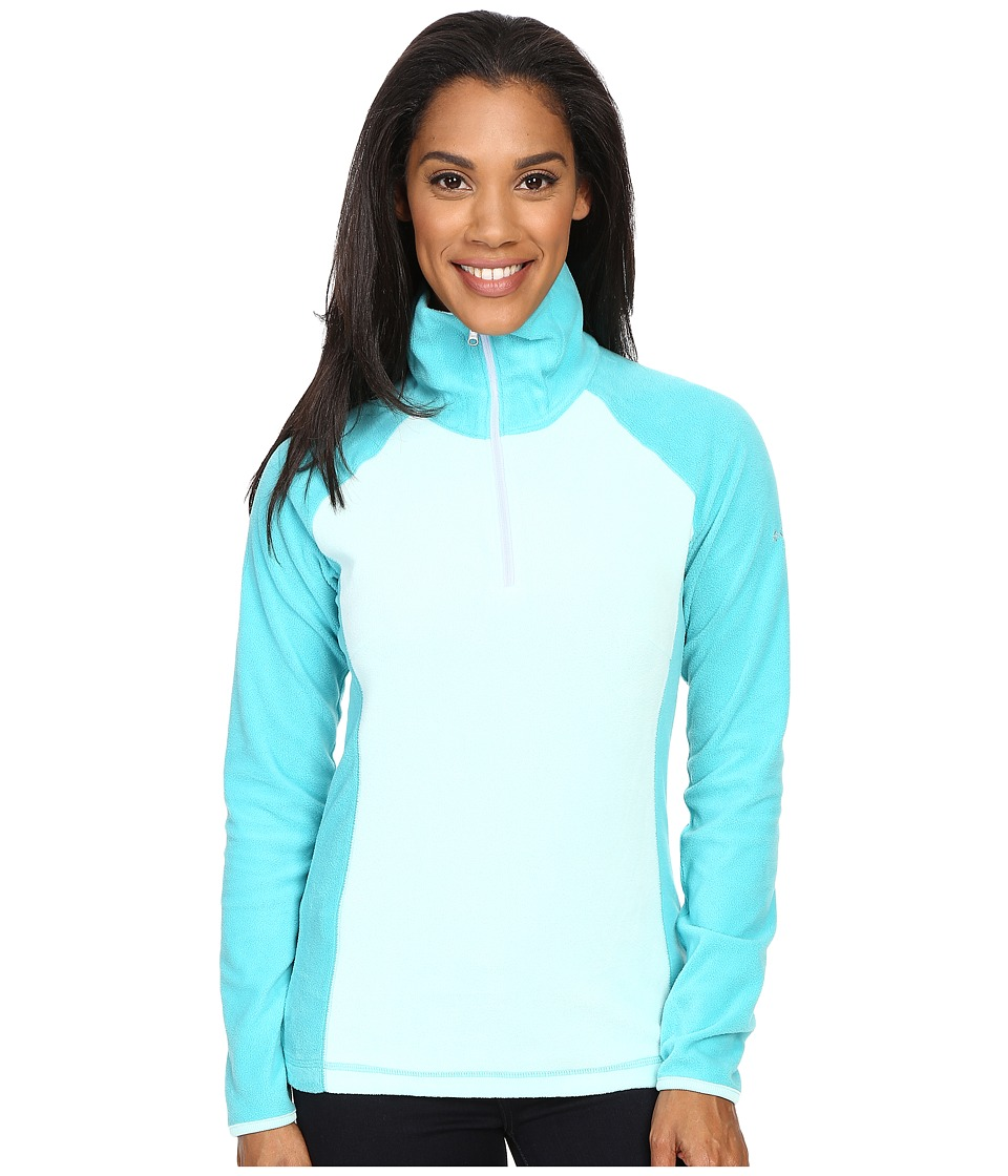 Columbia - Glacial Fleece III 1/2 Zip (Ocean Water/Miami) Women's Long Sleeve Pullover