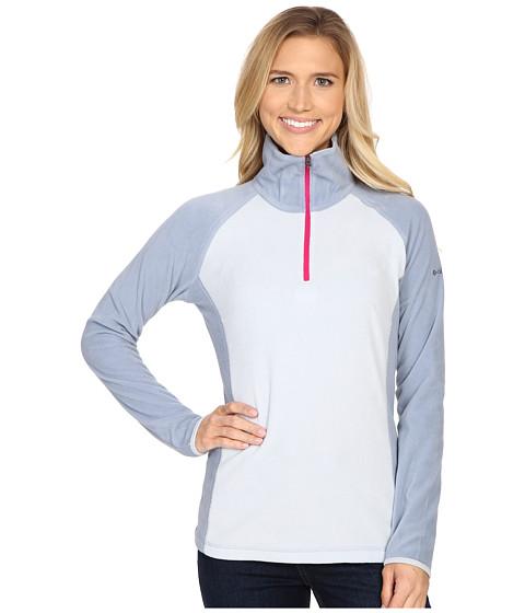 Columbia - Glacial Fleece III 1/2 Zip (Cirrus Grey/Beacon) Women