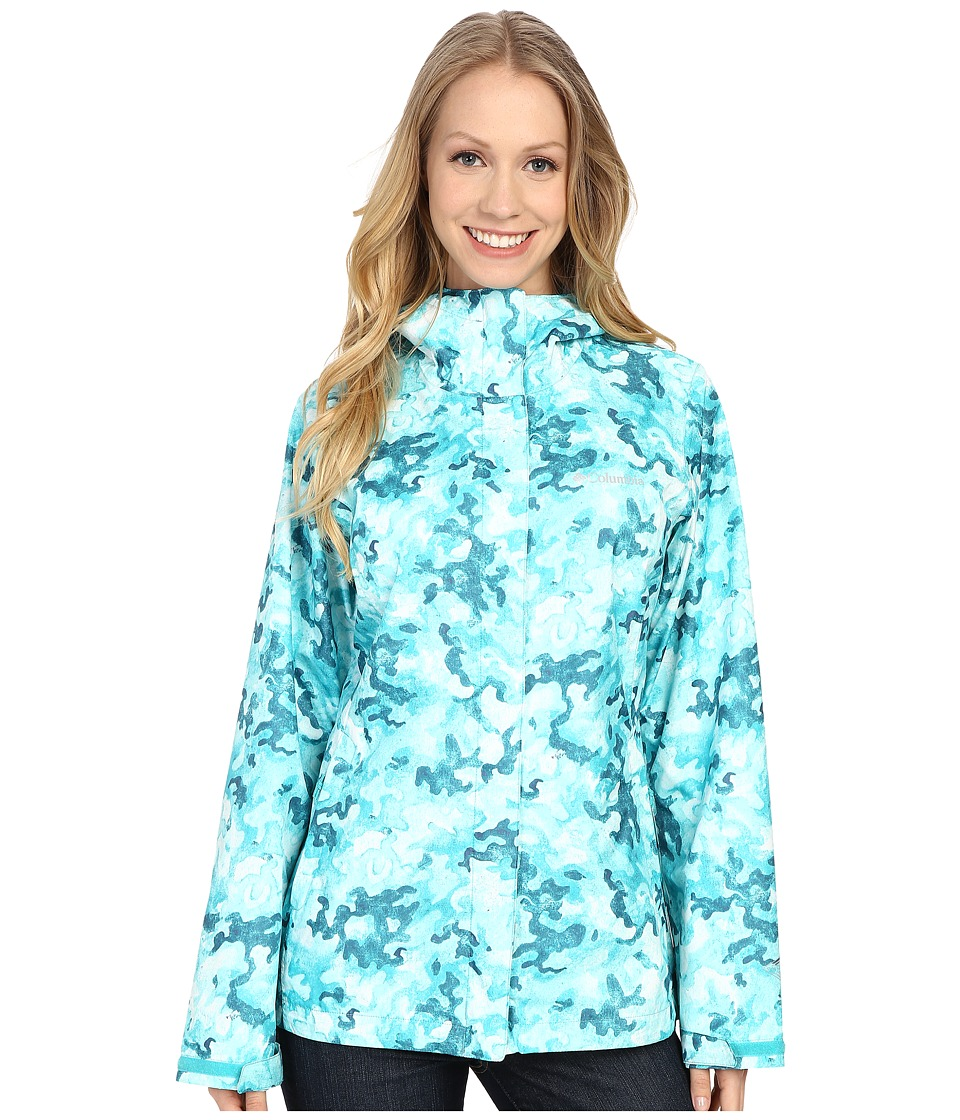Columbia - Arcadia Print Jacket (Miami Camo) Women's Coat