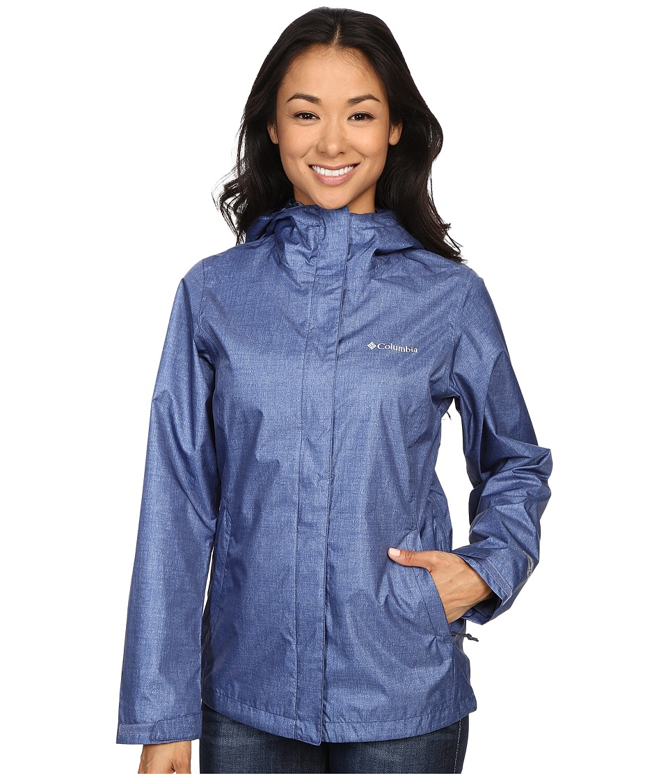 Columbia - Arcadia Print Jacket (Bluebell Chambray) Women's Coat