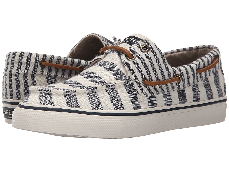 Sperry Top-Sider - Bahama Multi Stripe (Dusty Teal) Women's Lace up casual Shoes