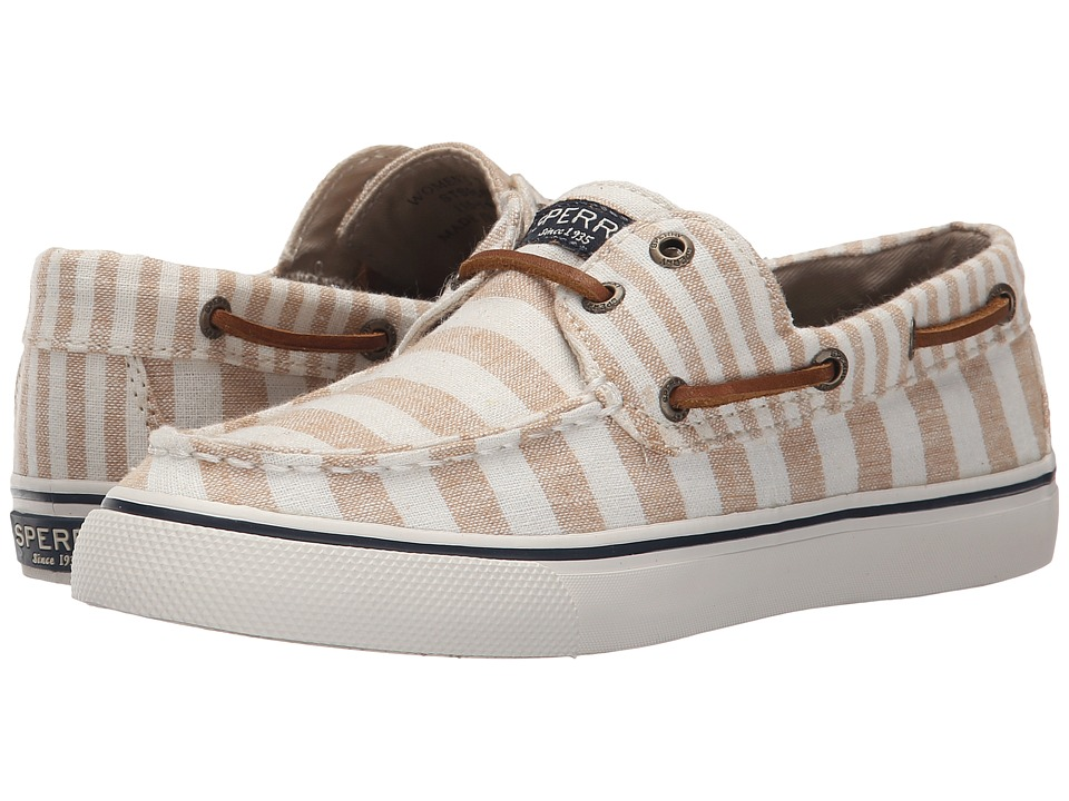 Sperry Top-Sider - Bahama Multi Stripe (Sand) Women's Lace up casual Shoes