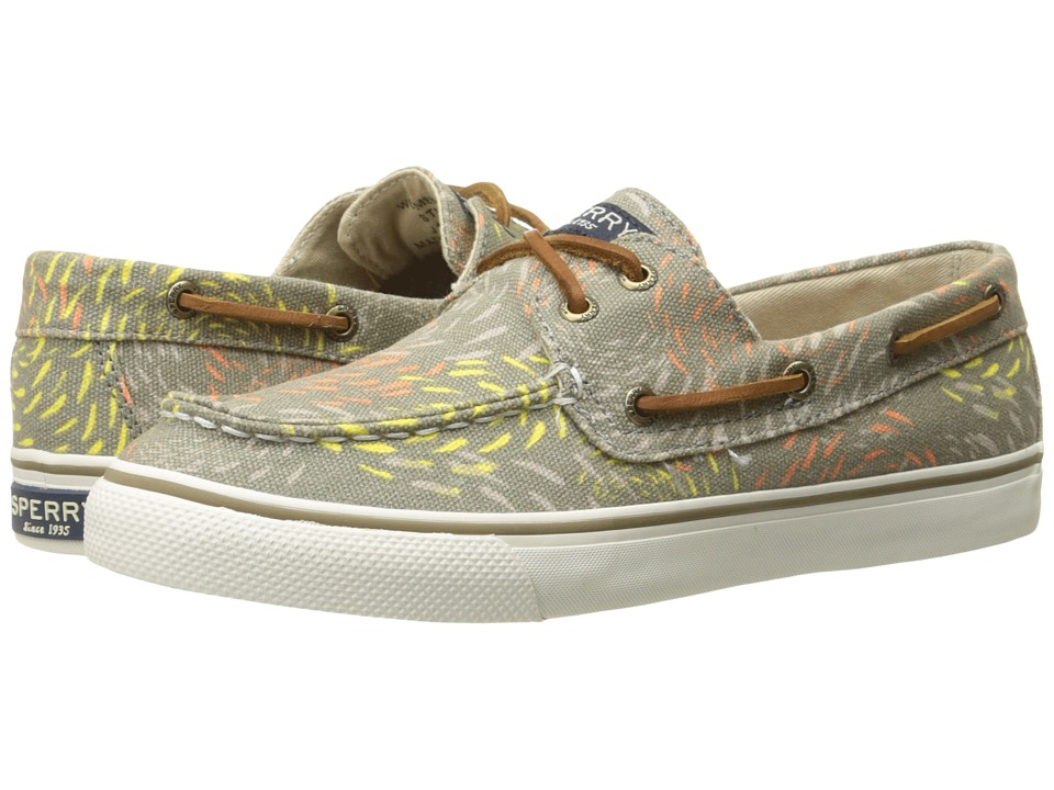 Sperry Bahama Fish Circle Taupe Womens Lace up casual Shoes