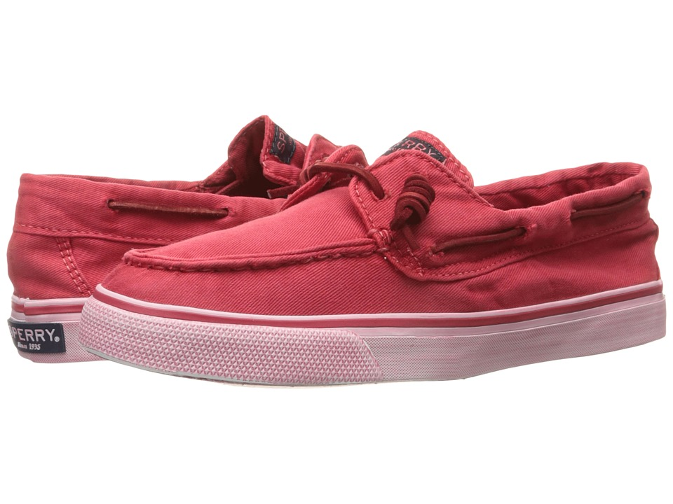 Sperry Top-Sider - Bahama Washed (Red) Women's Lace up casual Shoes