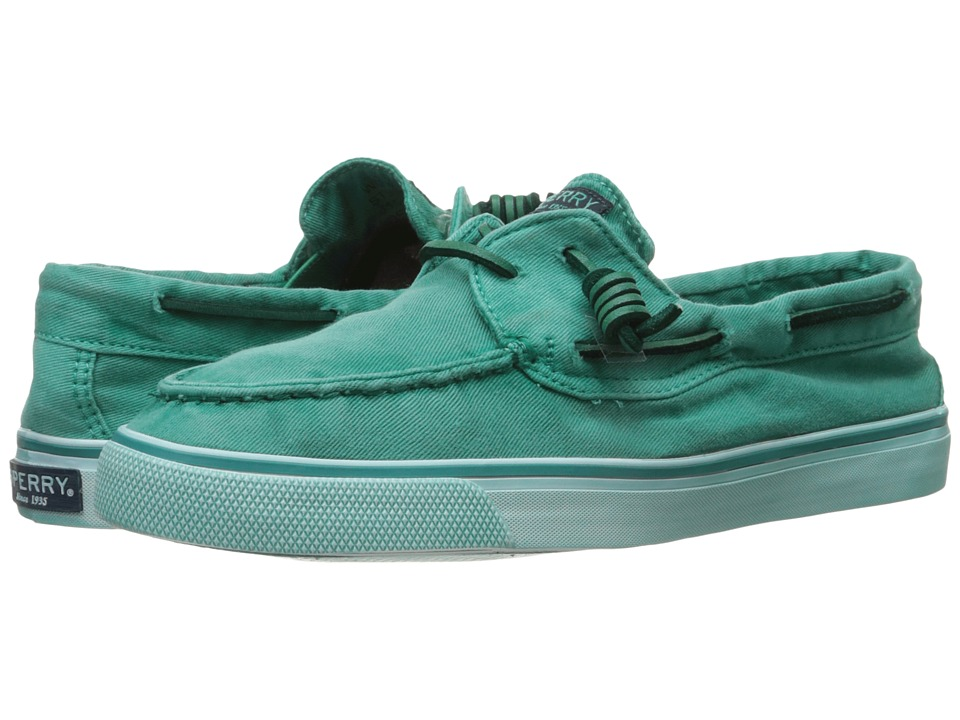Sperry - Bahama Washed (Teal) Women's Lace up casual Shoes