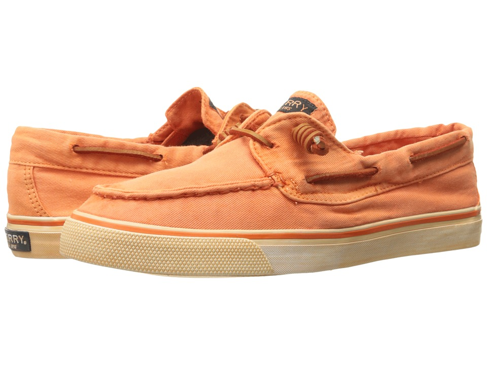 Sperry Top-Sider - Bahama Washed (Bright Orange) Women's Lace up casual Shoes