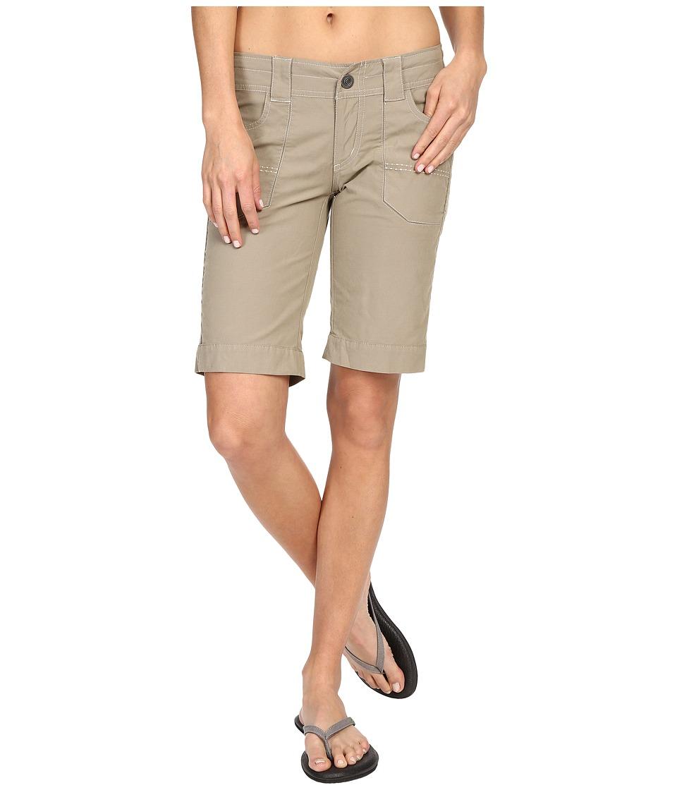 KUHL - Kendra Cuff Shorts (Khaki) Women's Shorts