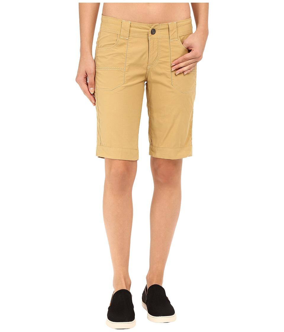 KUHL - Kendra Cuff Shorts (Camel) Women's Shorts