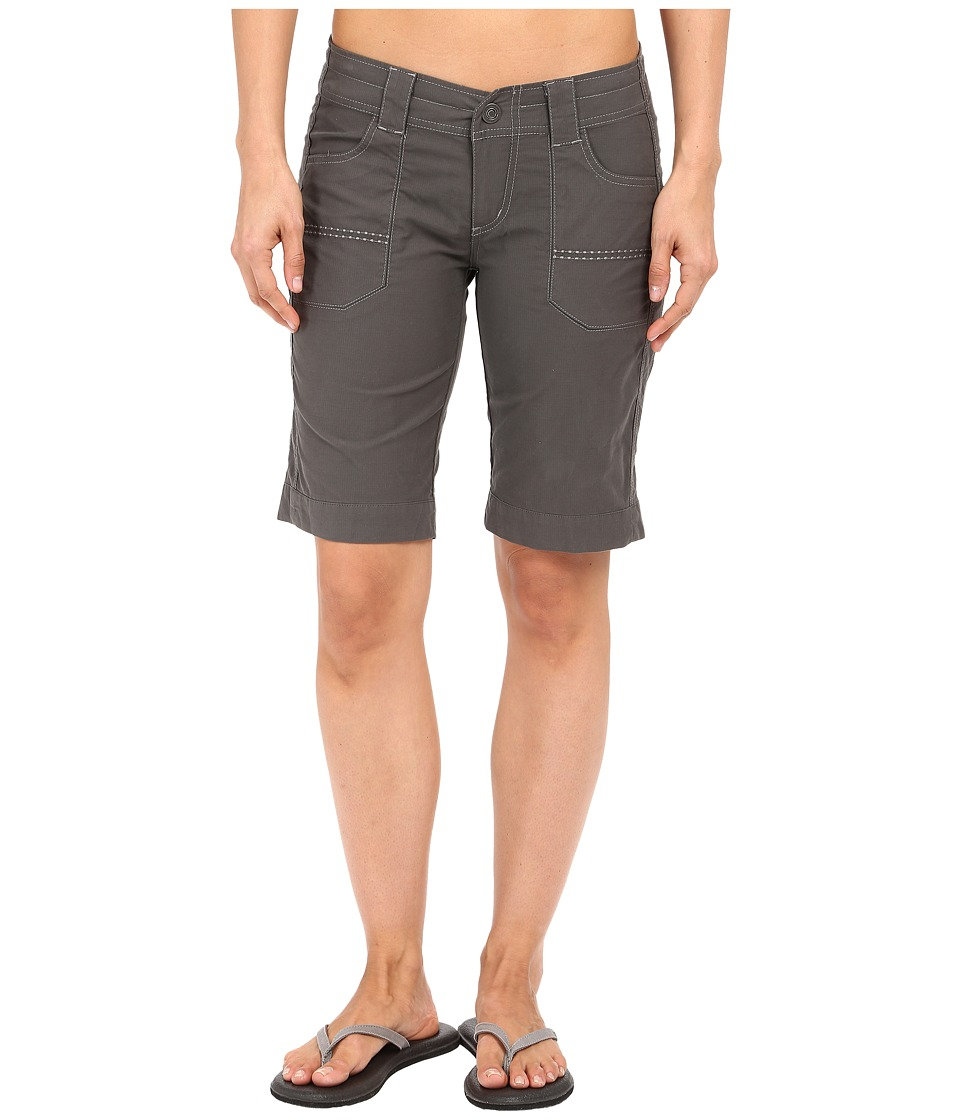 KUHL - Kendra Cuff Shorts (Carbon) Women's Shorts
