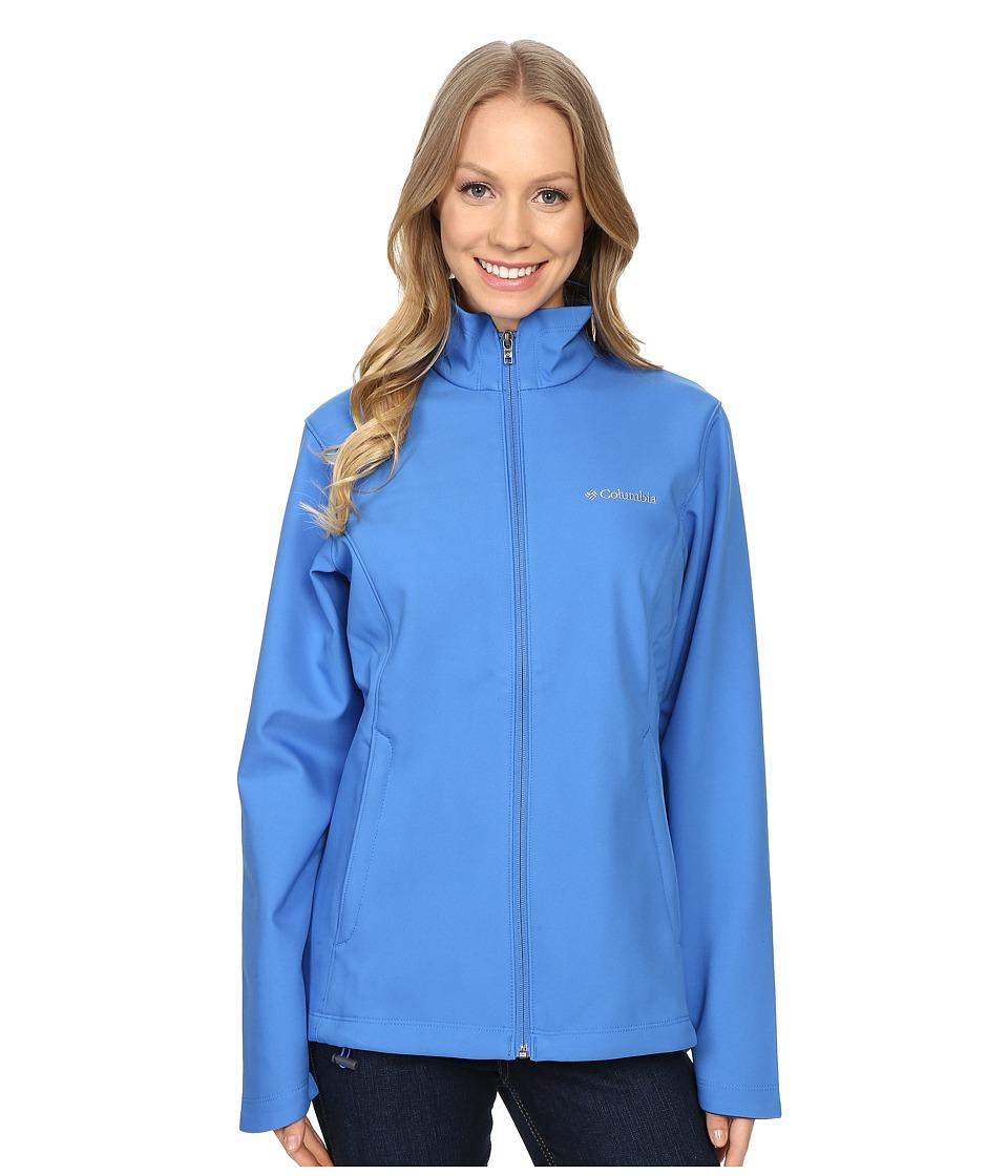Columbia - Kruser Ridge Softshell (Stormy Blue) Women's Coat