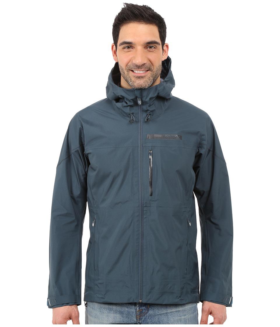 adidas Outdoor - Terrex GTX Active Shell 3 Jacket (Midnight/Dark Grey) Men's Coat
