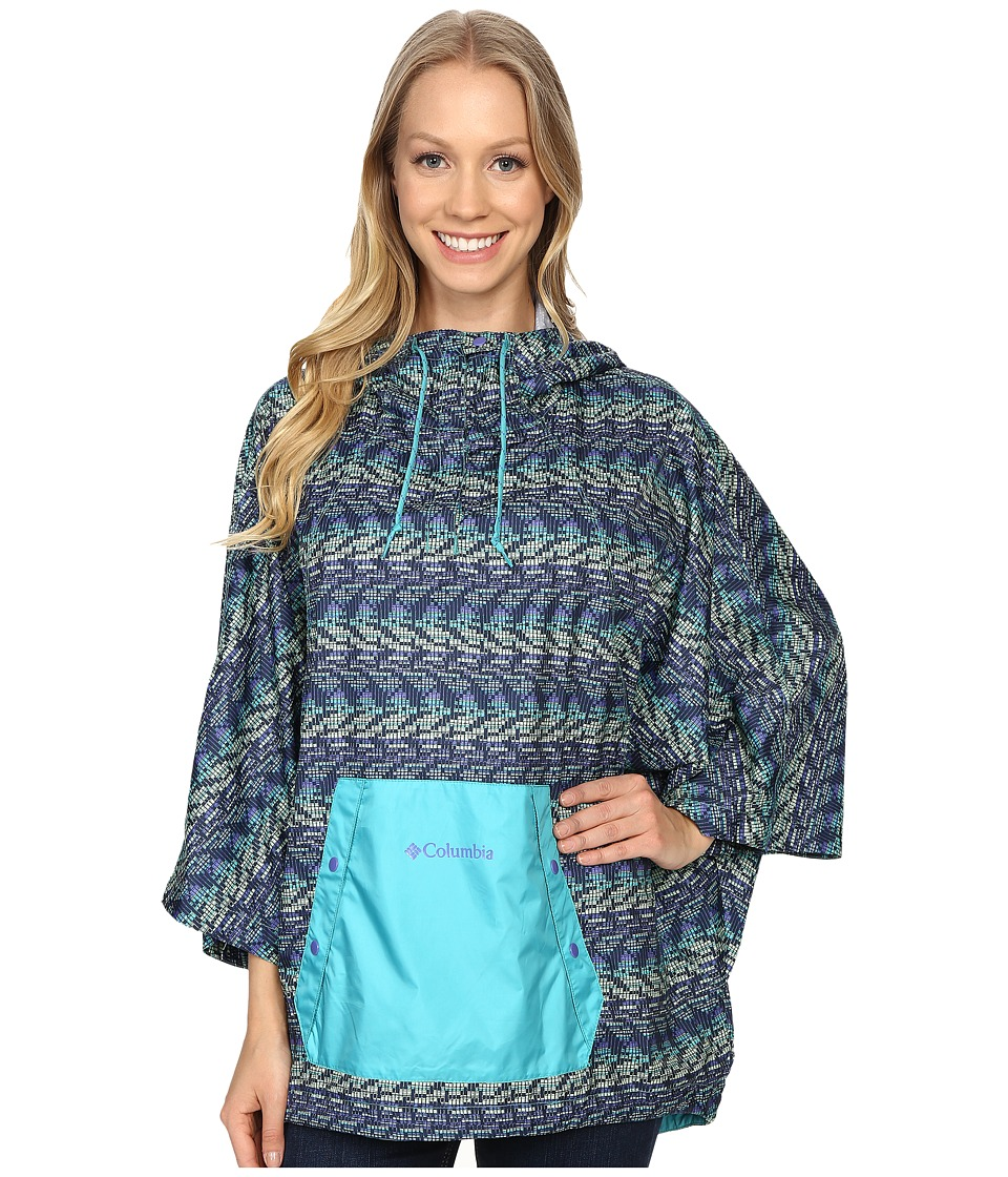 Columbia - Flash Forward Anorak (Miami Matrix Print) Women's Coat