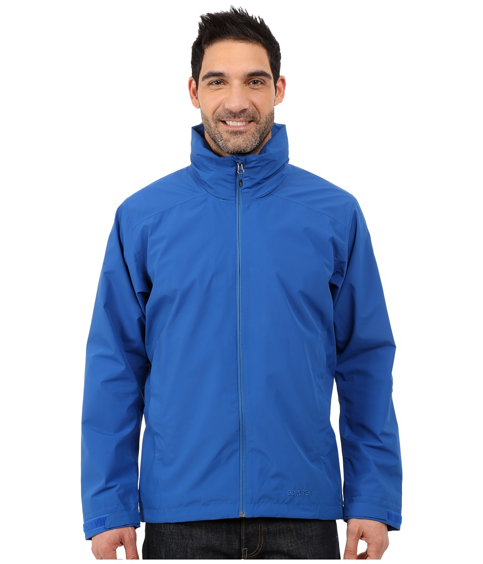 adidas Outdoor - All Outdoor 2L GORE-TEX Wandertag Jacket (Blue) Men's Coat