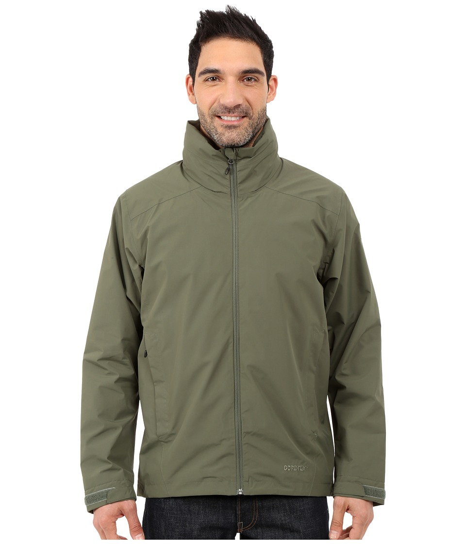 adidas Outdoor - All Outdoor 2L GORE-TEX Wandertag Jacket (Base Green) Men's Coat