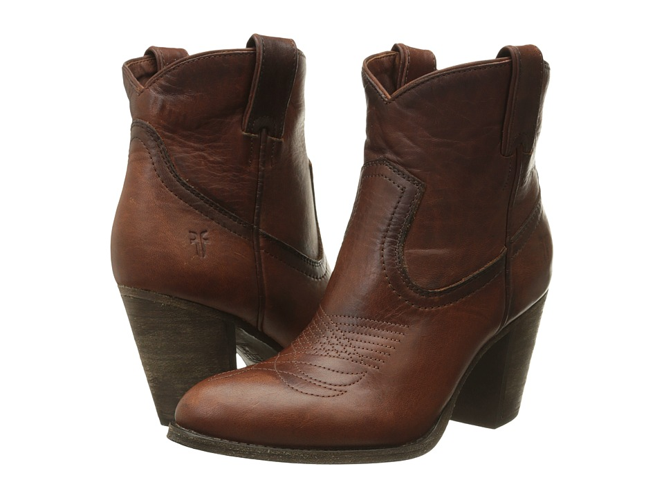 Frye Ilana Pull On Short (Cognac Washed Oiled Vintage) Women