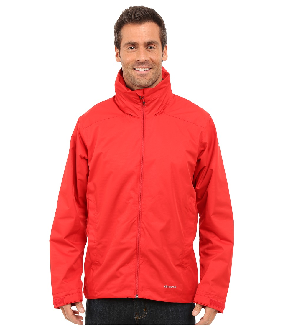 adidas Outdoor - All Outdoor 2L Wandertag Solid Jacket (Scarlet) Men's Coat