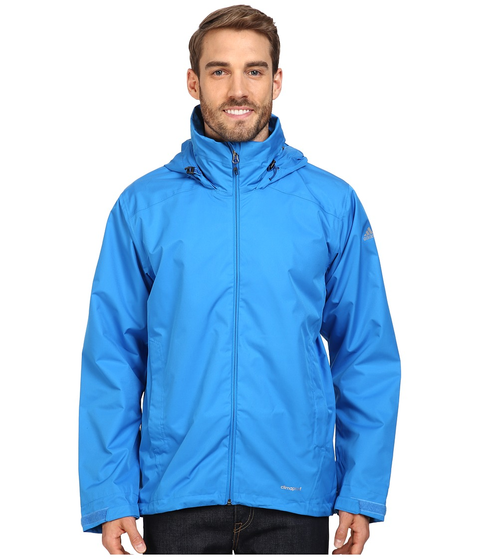 adidas Outdoor - All Outdoor 2L Wandertag Solid Jacket (Shock Blue) Men's Coat