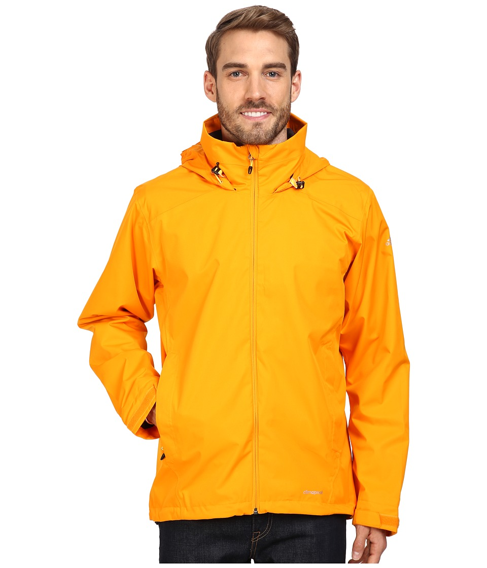 adidas Outdoor - All Outdoor 2L Wandertag Solid Jacket (Orange) Men's Coat