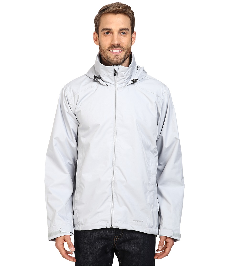 adidas Outdoor - All Outdoor 2L Wandertag Solid Jacket (Clear Onix) Men's Coat