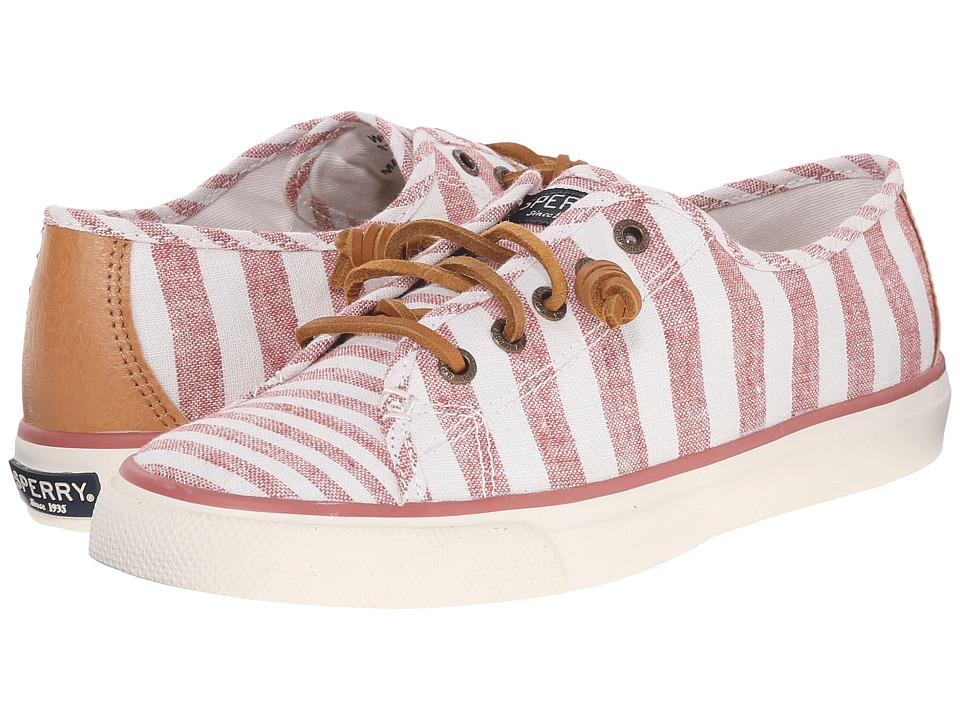 Sperry Top-Sider - Seacoast Multi Stripe (Brick) Women's Lace up casual Shoes