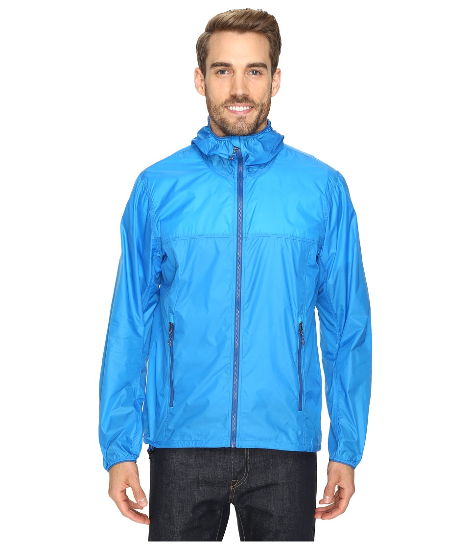 adidas Outdoor - All Outdoor Mistral Wind Jacket (Shock Blue) Men's Coat