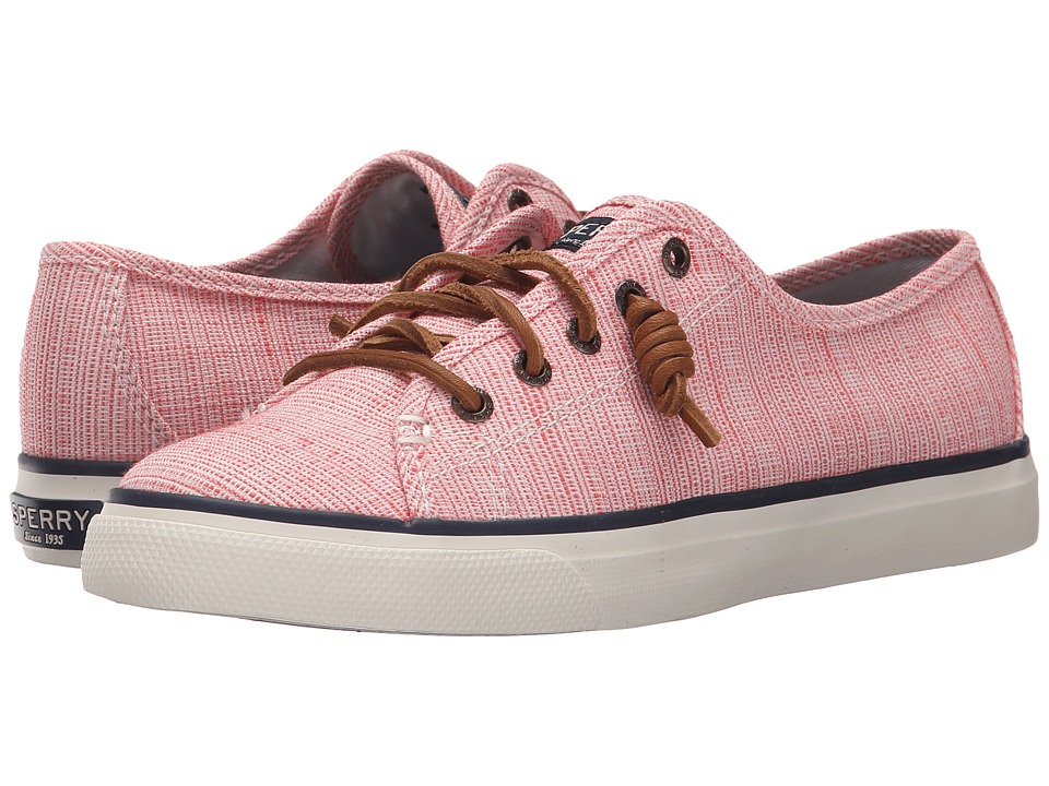 Sperry Top-Sider - Seacoast Cross-Hatch (Coral/Ivory) Women