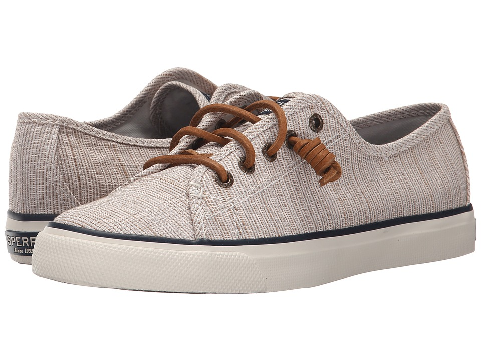 Sperry Top-Sider - Seacoast Cross-Hatch (Taupe/Sand) Women's Lace up casual Shoes