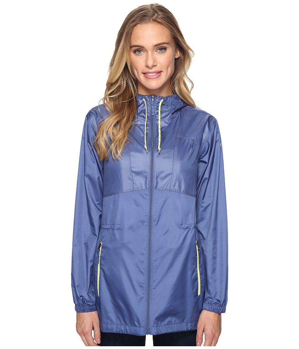 Columbia - Flashback Windbreaker Long (Bluebell) Women's Coat