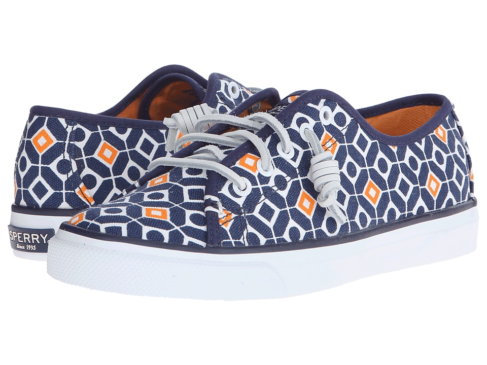 Sperry Top-Sider - Seacoast Geo Print (Navy) Women