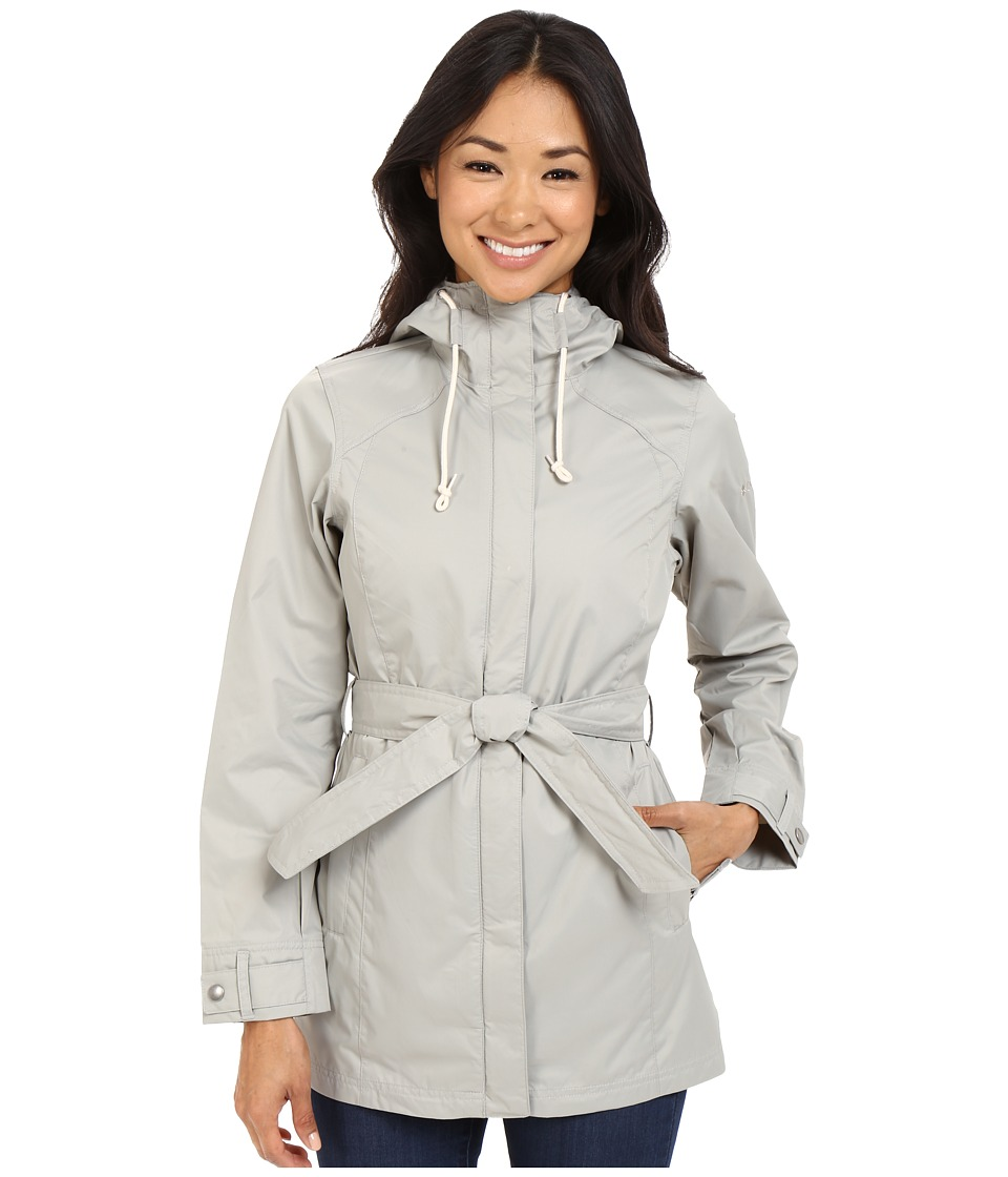 Columbia - Pardon My Trench Rain Jacket (Flint Grey) Women's Coat
