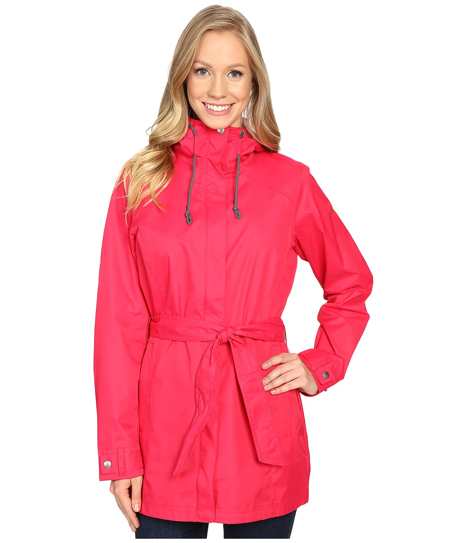 Columbia - Pardon My Trench Rain Jacket (Ruby Red) Women's Coat