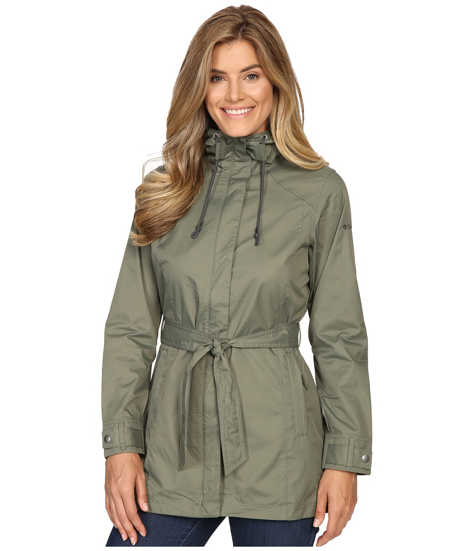Columbia - Pardon My Trench Rain Jacket (Cypress) Women's Coat