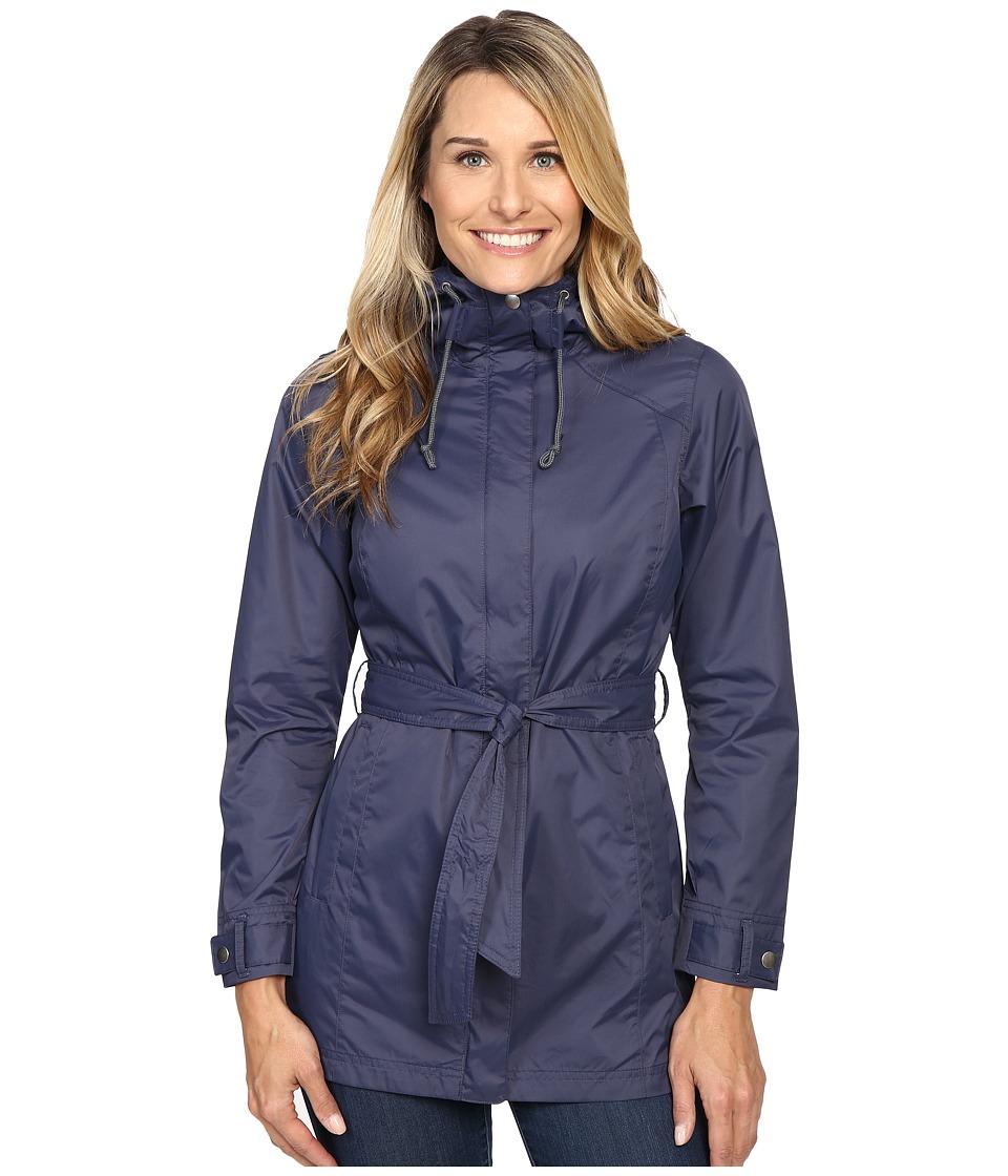 Columbia - Pardon My Trench Rain Jacket (Nocturnal) Women's Coat