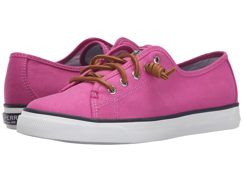 Sperry - Seacoast Canvas (Bright Pink) Women's Lace up casual Shoes