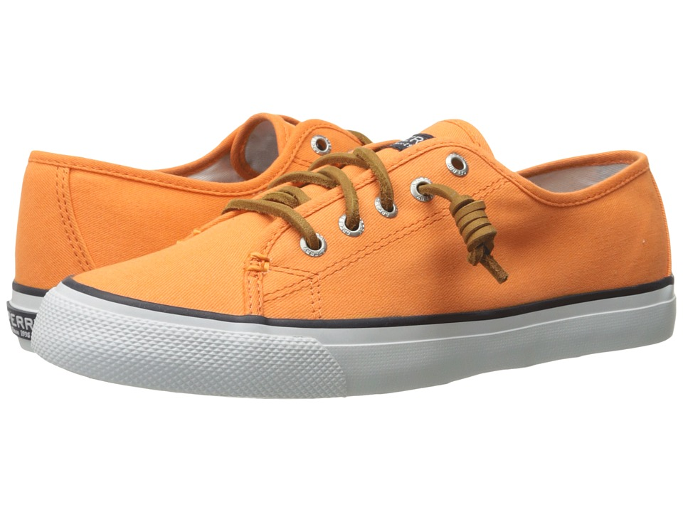 Sperry Top-Sider - Seacoast Canvas (Orange) Women