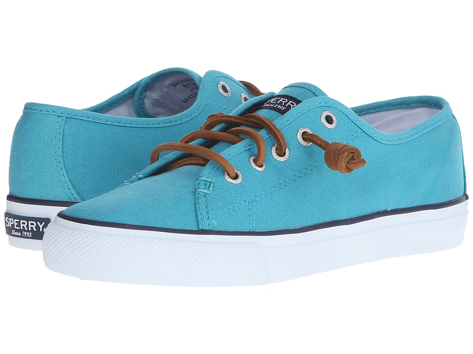Sperry Top-Sider Seacoast Canvas (Teal) Women