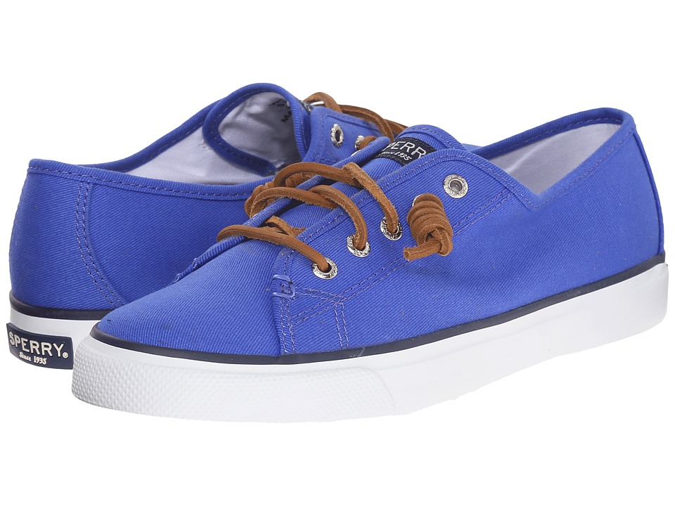 Sperry - Seacoast Canvas (Baltic Blue) Women's Lace up casual Shoes