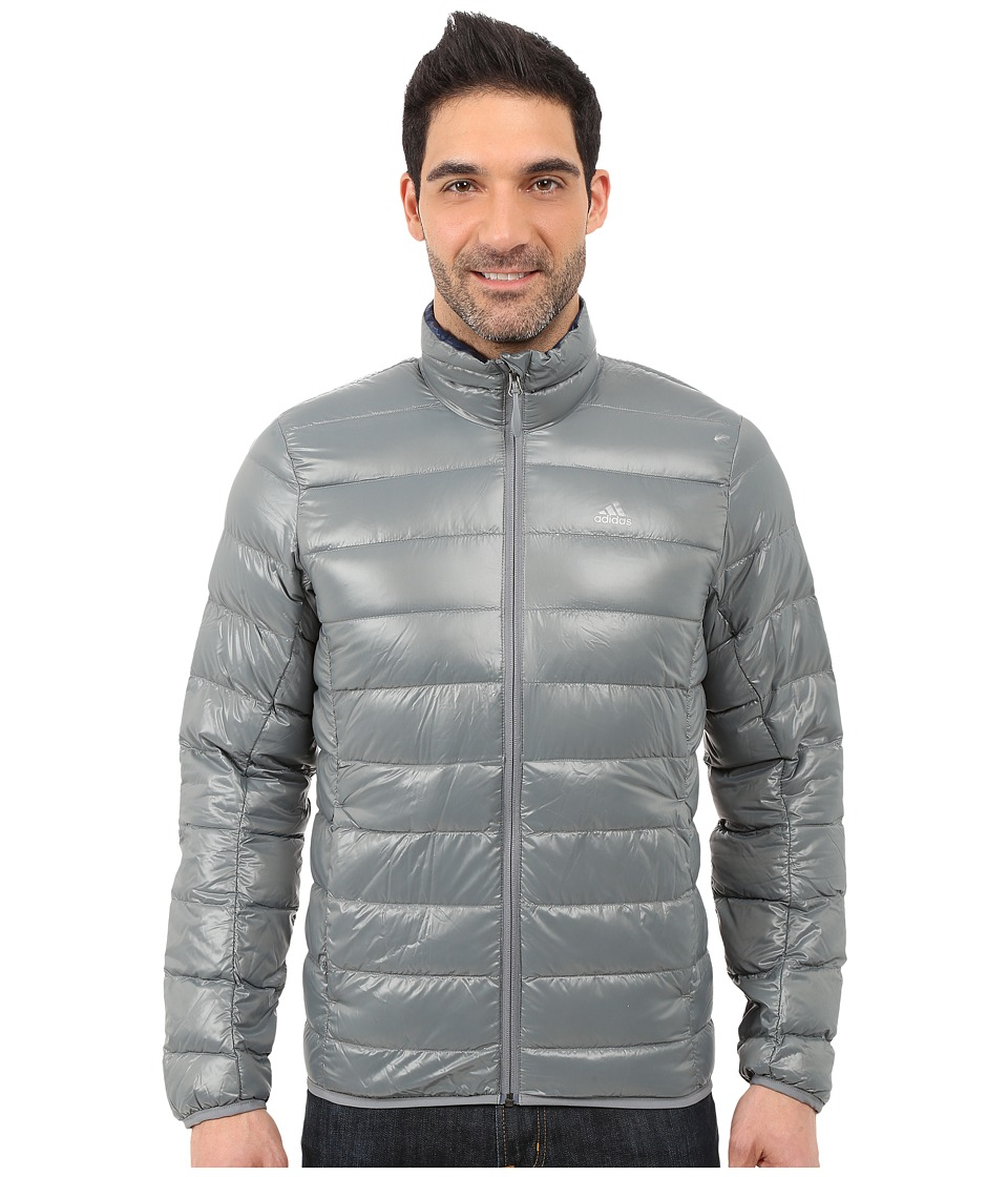 adidas Outdoor - Light Down Jacket (Vista Grey) Men's Coat
