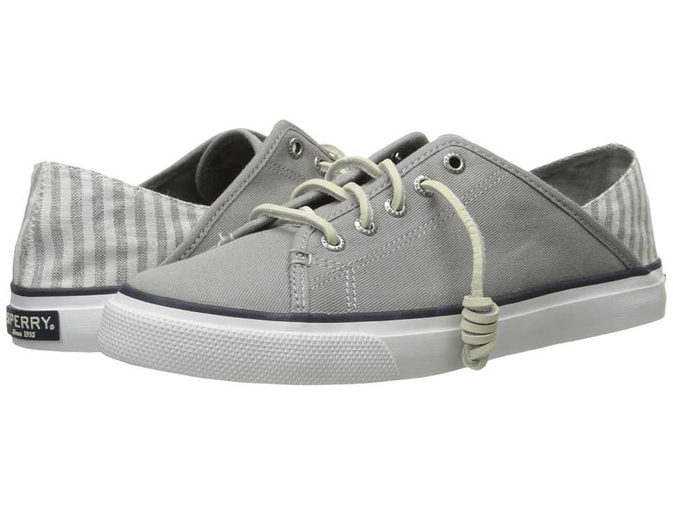 Sperry Top-Sider - Seacoast Isle Prints (Grey Stripe) Women's Lace up casual Shoes
