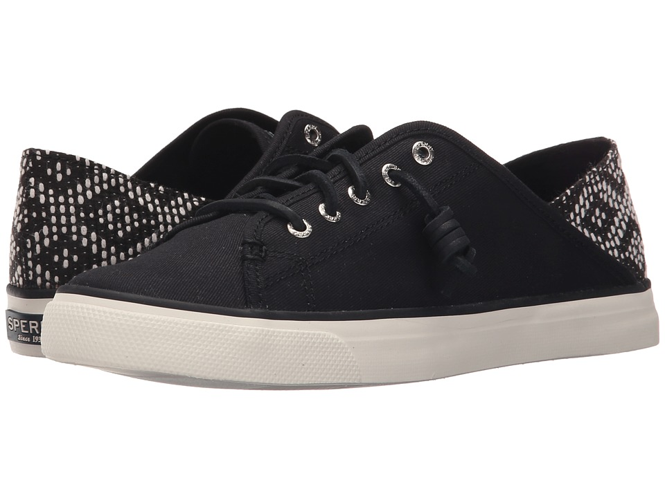 Sperry Top-Sider - Seacoast Isle Prints (Black/Tribal) Women's Lace up casual Shoes