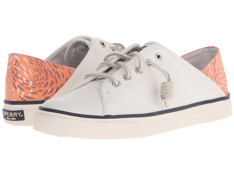 Sperry Top-Sider - Seacoast Isle Prints (White/Coral Fish) Women
