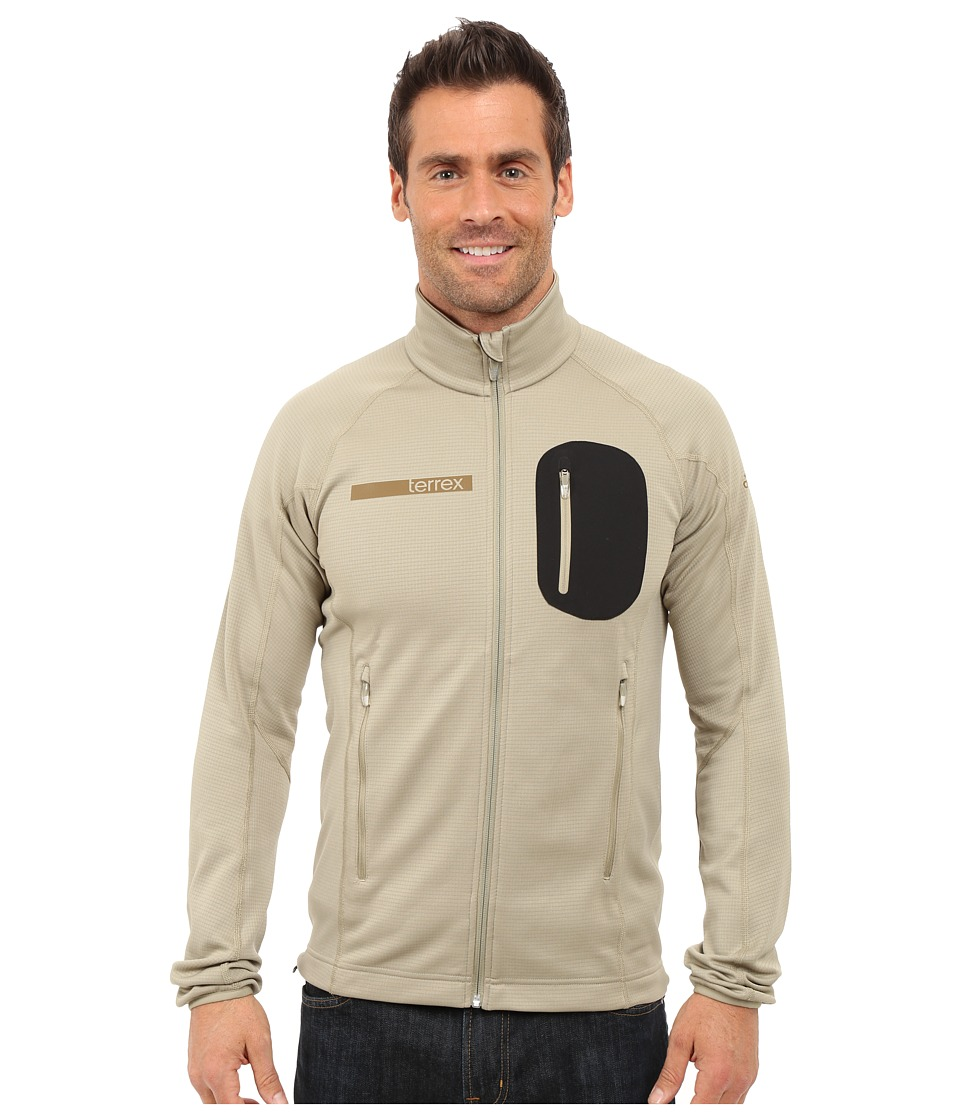adidas Outdoor - Terrex Coco Fleece Jacket (Tech Beige) Men's Fleece