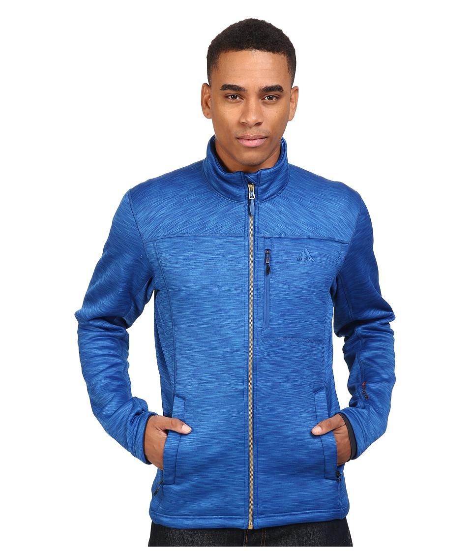 adidas Outdoor - Climaheat Fleece Jacket (Blue) Men's Coat