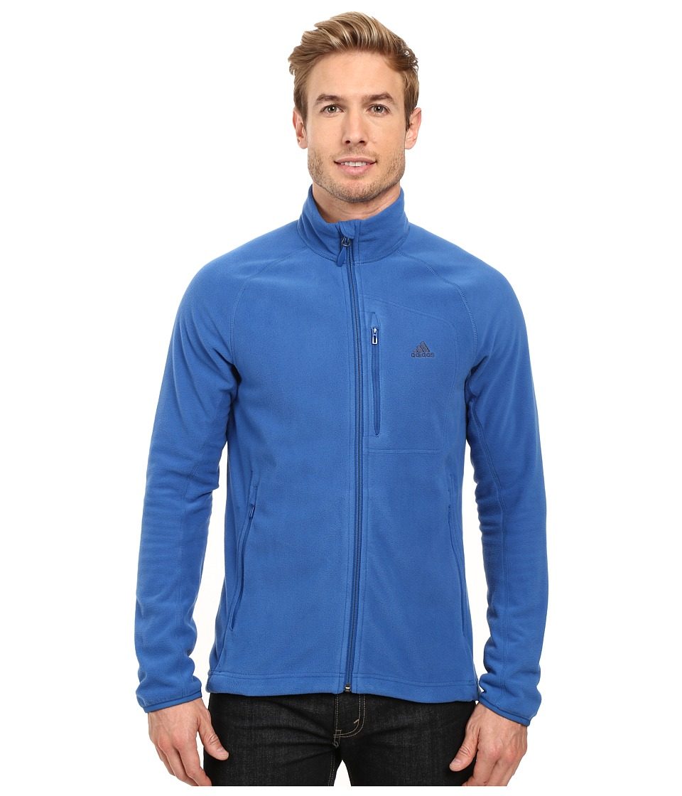 adidas Outdoor - Hiking Reachout Jacket (Blue) Men's Jacket