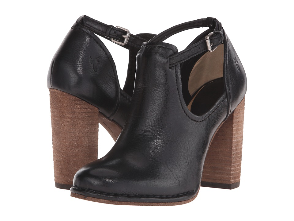 Frye - Margaret Shootie (Black Soft Vintage Leather) Women's Boots