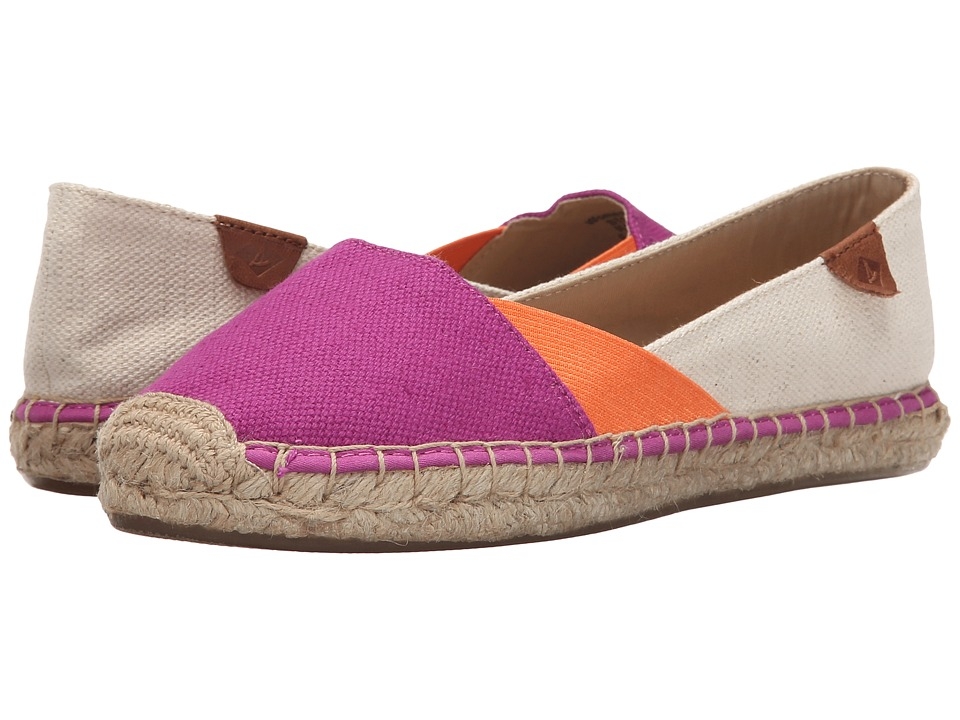 Sperry Top-Sider Katama Cape Color-Block (Bright Pink/Bright Orange/Natural) Women
