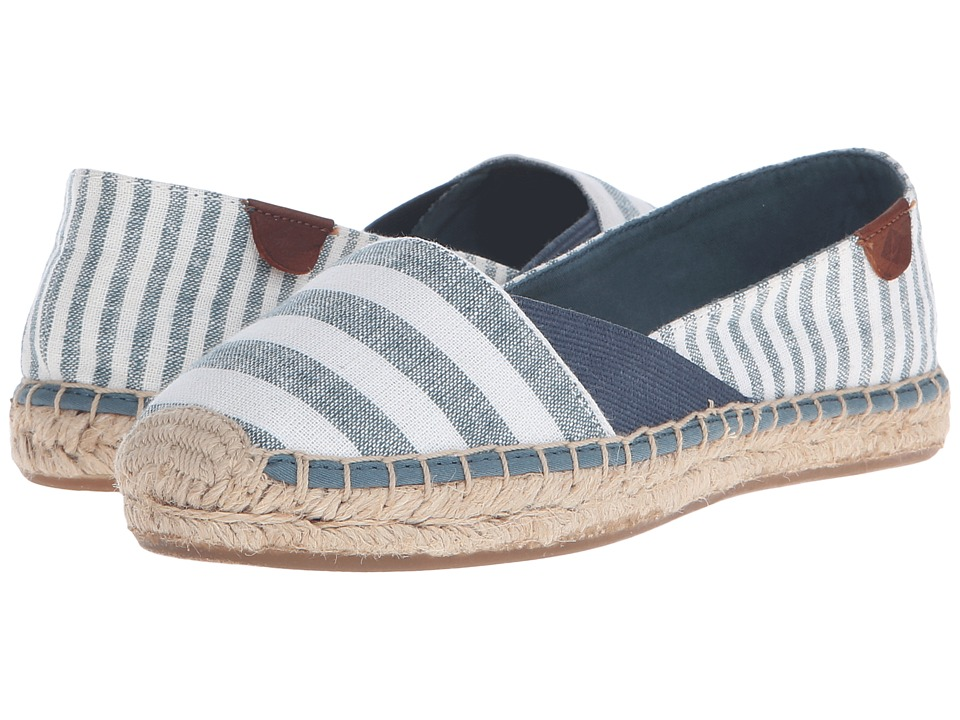 Sperry Top-Sider Katama Cape Prints (Dusty Teal Stripes) Women
